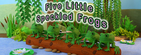 Speckled Frogs